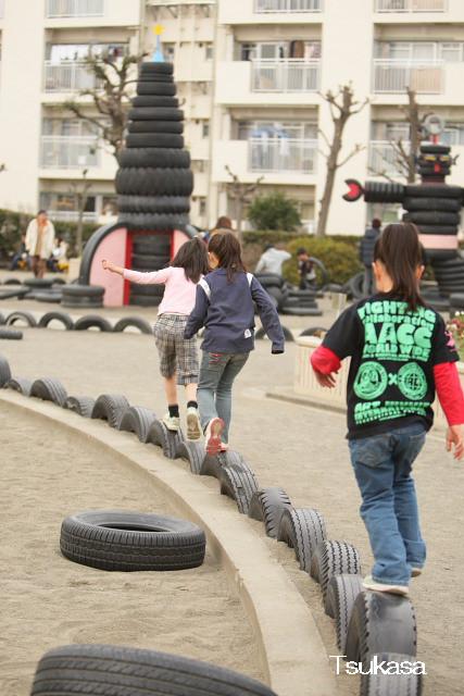 つかさのブログ-タイヤ公園