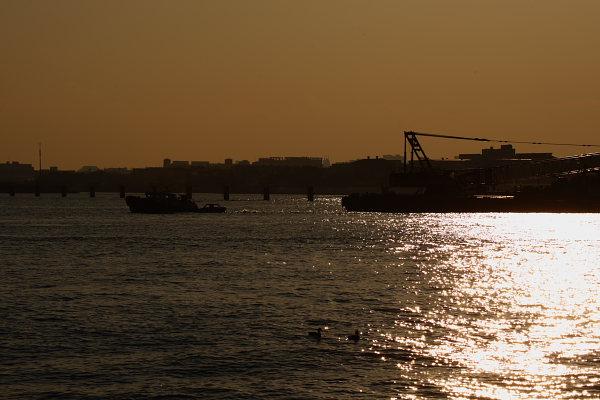 つかさのブログ-平日の城南島