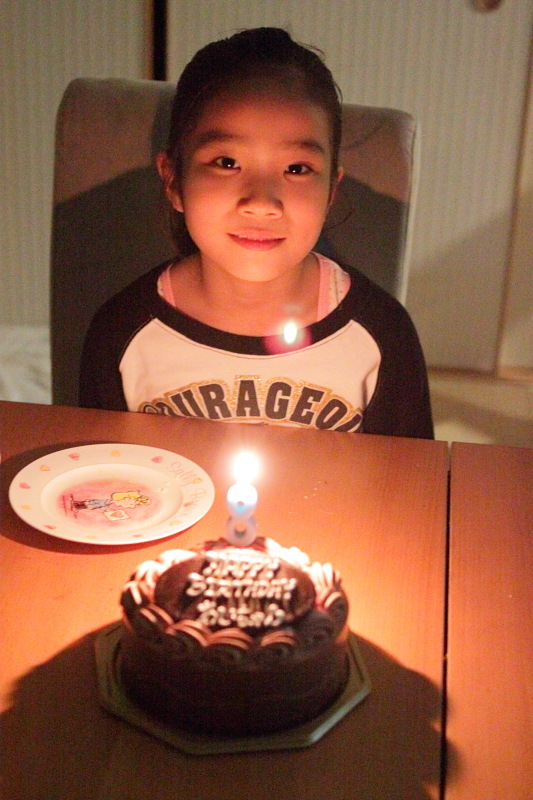 つかさのブログ-愛ちゃん8歳誕生日