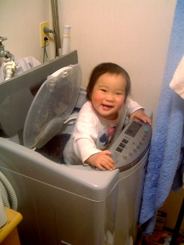 つかさのブログ-洗濯機