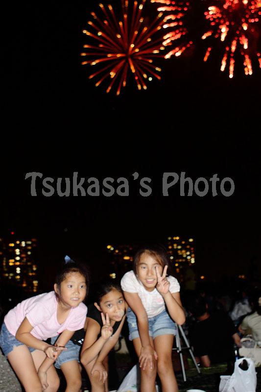 つかさのブログ-2010多摩川花火