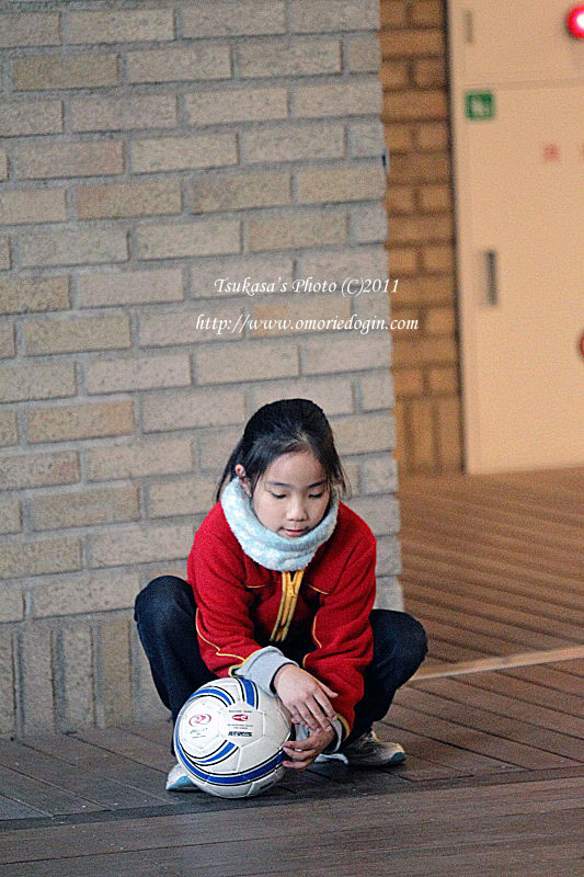つかさのブログ-サッカーボール