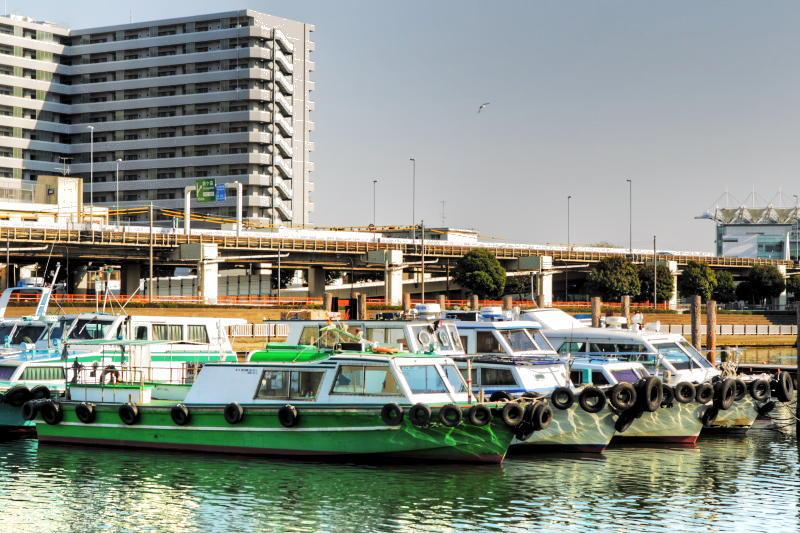 つかさのブログ-立会川運河