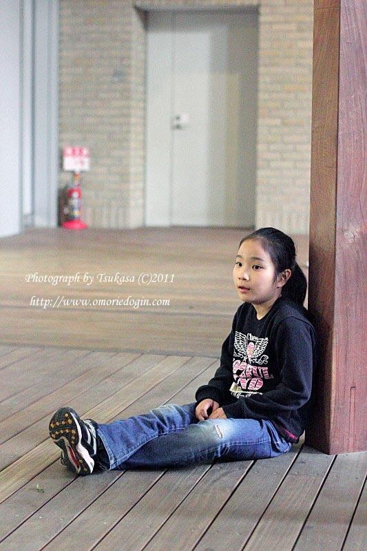 つかさのブログ-アイちゃん空気椅子