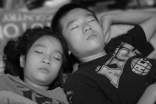 つかさのブログ-寝顔