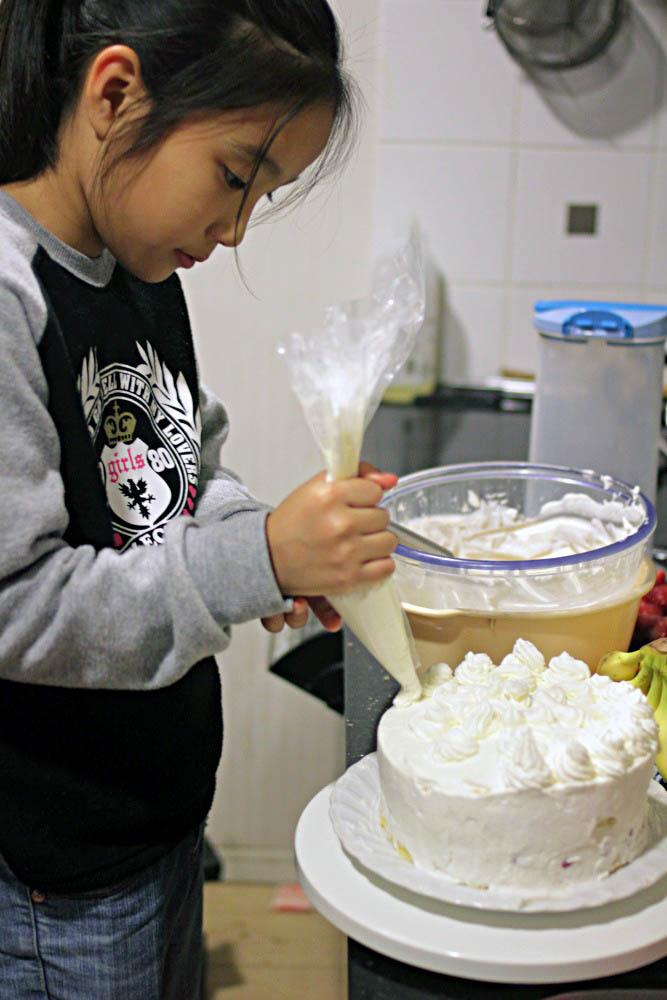 つかさのブログ-クリスマスケーキ