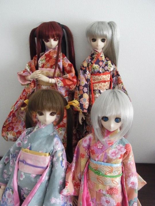 ミニチュア和傘07
