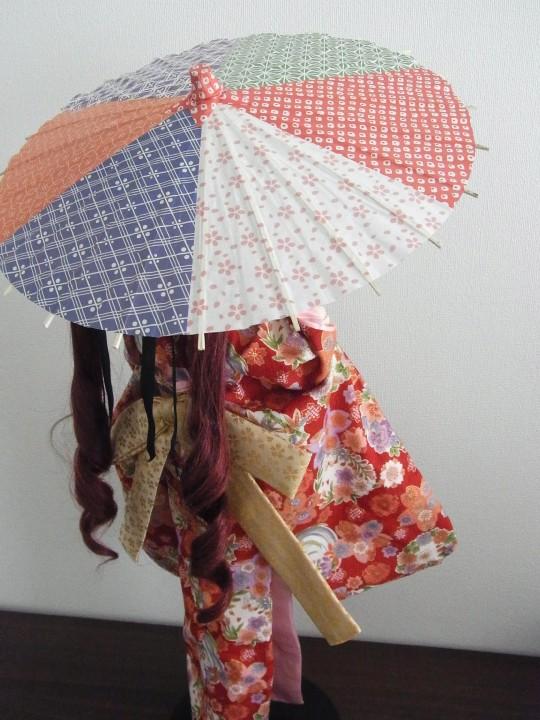 ミニチュア和傘06
