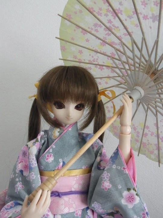 ミニチュア和傘08