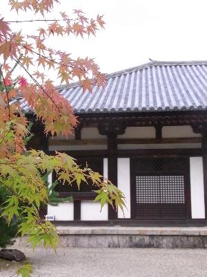 秋篠寺本堂