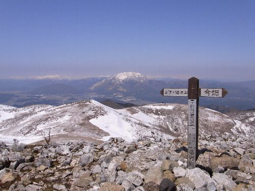 霊仙山最高点