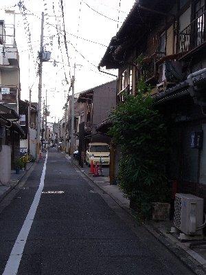 京都のろうじ