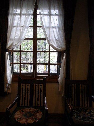 ホテル松本花月のロビー