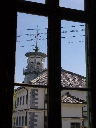 開智学校の見える窓