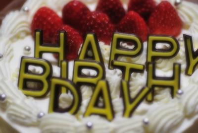 誕生日ケーキ~デコレ~