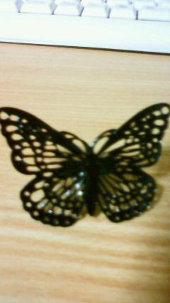黒蝶リング