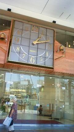 高級チョコレートみたいな時計