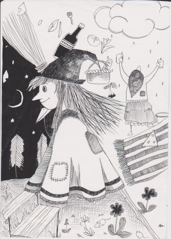 小さい魔女