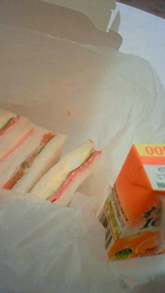 贅沢なサンドウィッチ