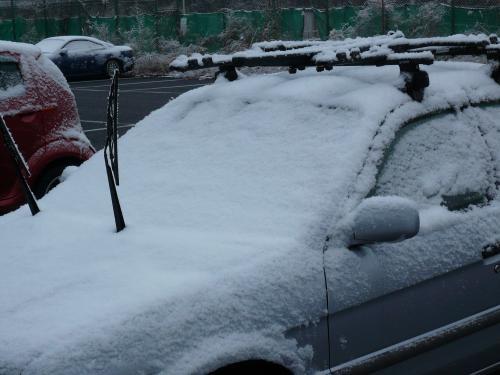 雪ふった2