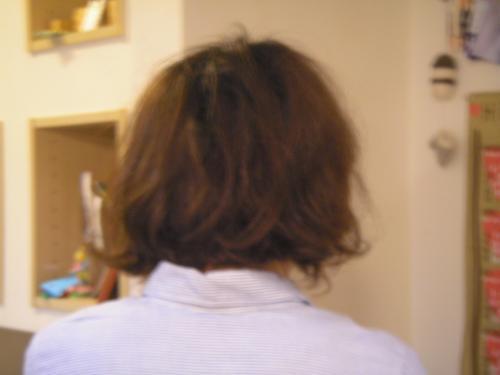 ぬしさま髪