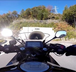 天竜川和良のトンネル