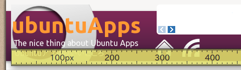 ScreenRuler Ubuntu 物差し