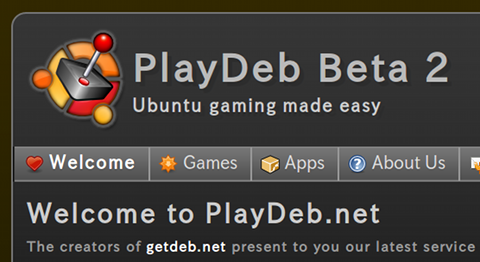 PlayDeb Ubuntu ゲーム