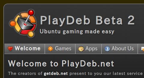 PlayDeb Ubuntu ゲーム
