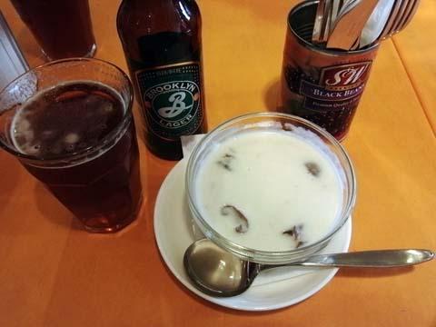 スープ&ビール