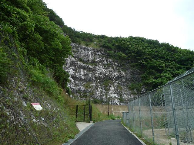 志井鉱山跡1350