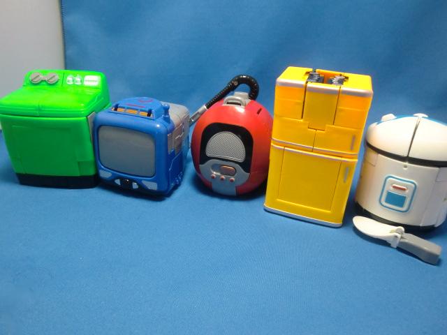 電化製品5種