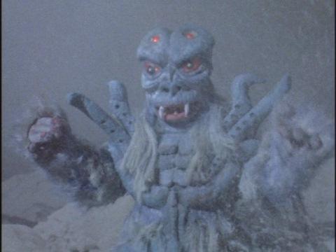 雪男超獣 フブギララ