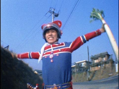 なぜか? 大根を持って変身する東光太郎隊員