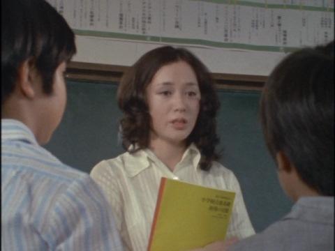桂木美加さんが演じた音楽の先生