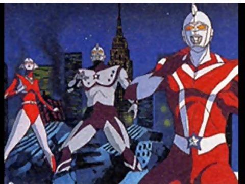 ウルトラフォース(左からウルトラウーマンベス、ウルトラマンチャック・ウルトラマンスコット)