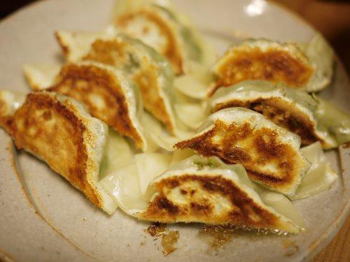 青菜の贅沢餃子