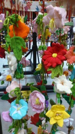 つるし飾り花