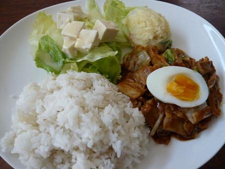 青山山荘料理