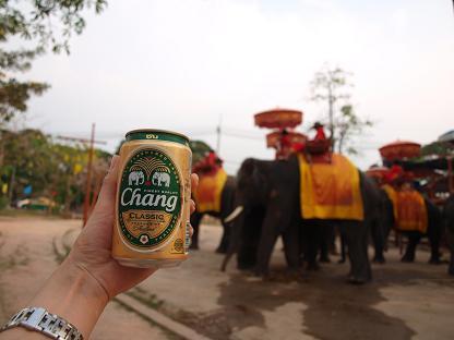象印のビール♪