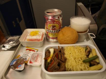 機内食・タイ~ホーチミン