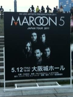 2011.05.12 Maroon 5