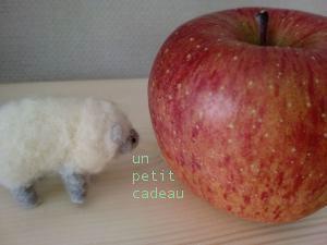 リンゴと羊