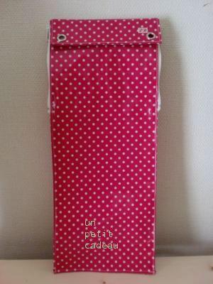 C&S 水玉ビニコのマリンバスティックケース
