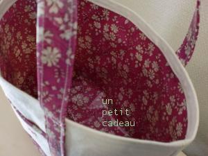 C&S 国内限定リバティ Capel ビニコ生地 × 帆布 のトートバッグ