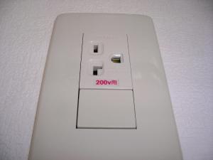 2010年11月19日200V変更工事