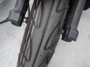 2010年12月16バイクFタイヤ
