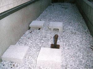 2011年01月21物置ブロック