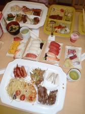 ユネッサンイン夕飯①