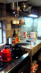 キッチンも素敵でした*